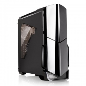 ThermalTake Black Versa N21 Mid Tower Chassis &...