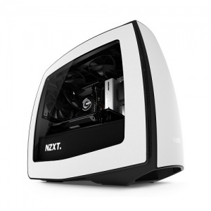 NZXT MANTA MATTE WHITE MINI-ITX USB3.0