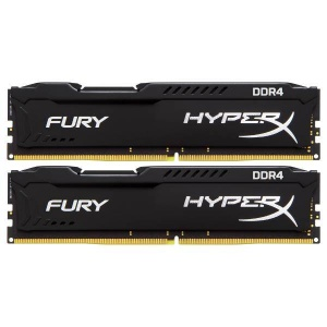8GB Kingston HyperX Fury 2400MHz DDR4 Non-ECC CL15...