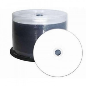 Ritek 8X DVD+R Dual Layer : 8.5GB 50pc Inkjet Whit...