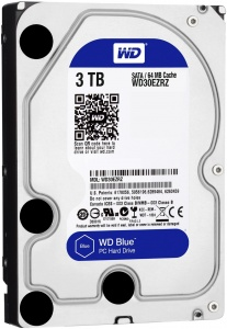 3TB WD Blue  64M 5400RPM SATA 6Gb/s