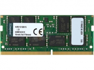 16GB Kingston KVR 2133MHz DDR4 Non-ECC SODIMM
