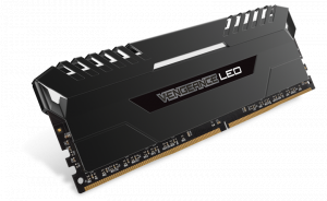 32GB VENGEANCE LED (4 x 8GB) DDR4 DRAM 2666MHz C16...
