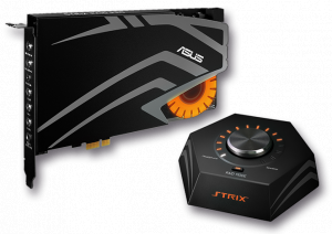 Asus STRIX RAID PRO, 7.1 PCIe gaming sound card set with an audiophile-grade DAC and 116dB SNR