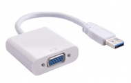 USB 3.0 to VGA Display Adaptor, [U3VG01], up to 1920 x 1080 pixels, Windows 7 / 8 / 8.1 / 10 Supported