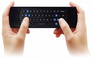 Measy Wireless RF 2.4GHz Air Mouse / Keyboard / Smart Remote Controller 3in1. [GP811]