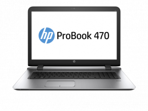 "HP 470 G3, I7-6500U 8GB, 1TB, 17.3"" HD, DVDRW..."