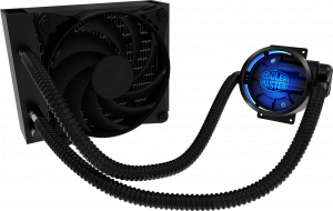 120mm Coolermaster MasterLiquid Pro 120 CPU Cooler...