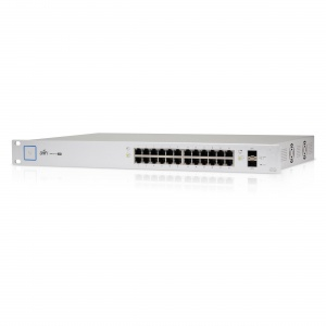 Ubiquiti UniFi Switch 24-port Gigabit RJ45 2 SFP 1...