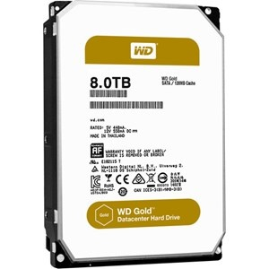 "8TB WD Gold, ,SATA,128 cache, 3.5"" Form Facto..."