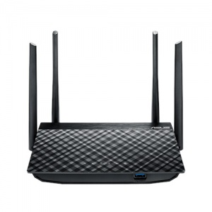 ASUS RT-AC58U Dual Band AC1200 Wireless Router Wit...