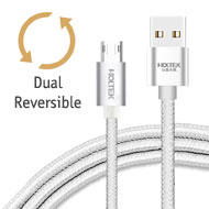 Holtek Reversible micro USB Charging / Data Cable,...