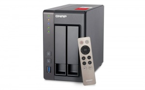 QNAP TS251+ NAS TOWER QUAD CORE 2.4 2GHZ CELERON P...