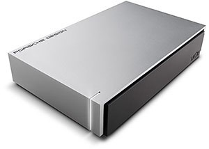 8TB LaCie Porsche Design 3.5 USB 3.0 light-grey