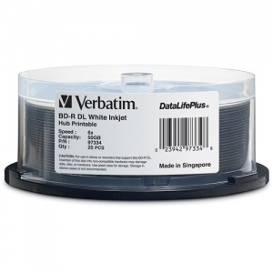 Verbatim BDR DL 50GB 25pk Spindle 6x