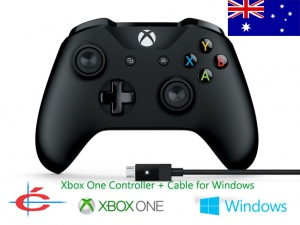 Xbox One Wireless Controller + Wired Cable for Windows