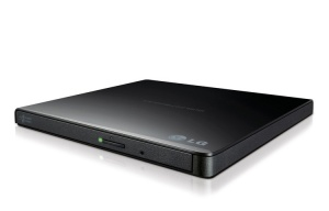 LG GP65NB60 SLIM PORTABLE EXTERNAL DVD-RW DRIVE, U...