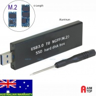 M.2 NGFF B Key SSD to USB 3.0 Enclosure External C...