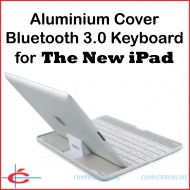 Bluetooth V3.0 Keyboard + Aluminium Cover / Stand ...