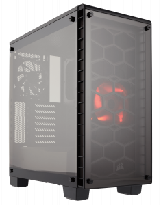 Corsair Crystal Series 460X SI - Tempered Glass, C...