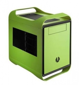 BitFenix Prodigy Mini-ITX Green 2x USB3 ATX-PSU So...