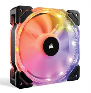 120mm Corsair HD120 , RGB LED, High Performance RG...