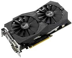 Asus GTX 1050 TI 4GB OC Strix Gaming