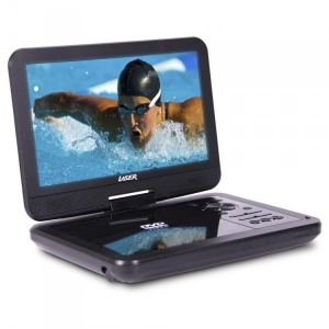 "Laser 10"" Portable DVD Player"