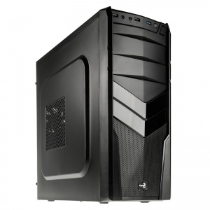 Aercool V2X Advance Black Mid Tower Chassis & ...