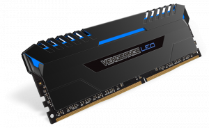 32GB Corsair VENGEANCE LED (4 x 8GB) DDR4 DRAM 300...