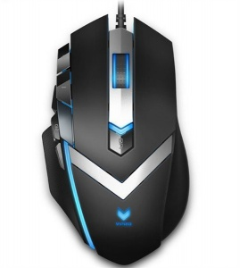 RAPOO V910 RGB MMO Laser Gaming Mouse Black - Upto...