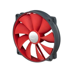 140mm DeepCool UF140 Red Blade PWM Fan (Max 1200RPM)