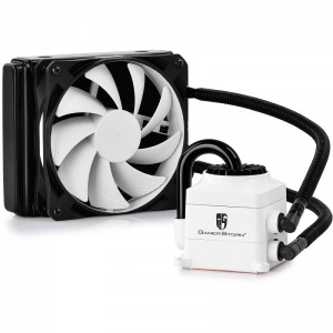 DeepCool White Gamer Storm Captain 120EX Enclosed ...