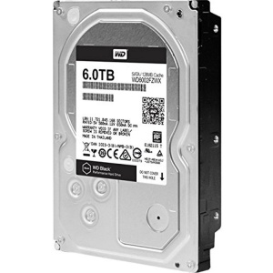 "6TB WD BLACK INTERNAL 3.5"" DESKTOP SATA DRIVE..."