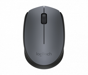 Logitech M171 Wireless Mouse (Grey/Black)