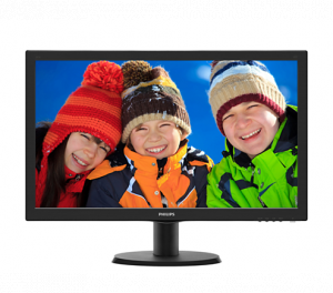 "23.6"" Philips 243V5QHABA LED MONITOR"