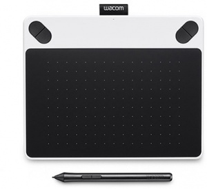INTUOS DRAW PEN SMALL WHITE