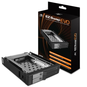 VANTEC EZ-SWAP EVO DUAL BAY MOBILE RACK