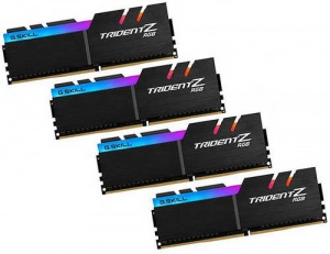 32GB G.Skill DDR4-2400 Quad Channel [Trident Z RGB...