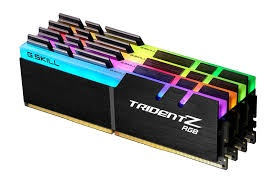 32GB G.Skill DDR4-3200 Quad Channel [Trident Z RGB...