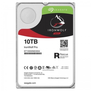 "10TB Seagate IronWolf Pro NAS HDD, 3.5"", SATA 6Gb/s, 7200rpm, 5Yr"""