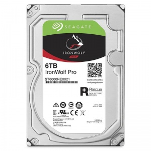 "6TB Seagate IronWolf Pro NAS HDD, 3.5"""",..."