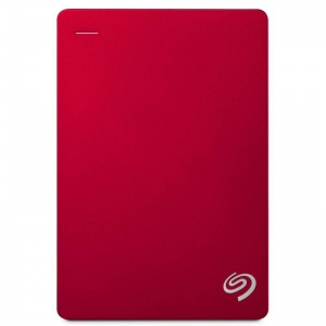 5TB Seagate Backup Plus Portable Drive - Red