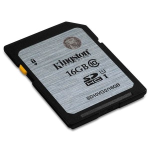 16GB Kingston SDHC Class10 UHS-I 45MB/s Read Flash...