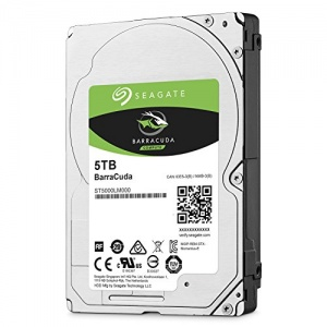 "5TB Seagate Barracuda HDD, 2.5"""", , SATA..."