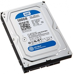 "500GB WD BLUE INTERNAL 3.5"" DESKTOP  SATA DRI..."