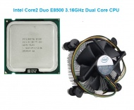 Refurbished Intel Core 2 Duo E8500, 3.16GHz/1333MHz FSB/6MB/LGA775