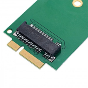 M.2 / NGFF SSD to 2012 MacBook Pro Adapter / Converter,  B / B+M Key M.2, 3 Lengths