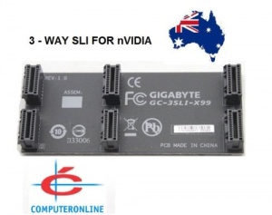3 way or 2 way GIGABYTE nVidia SLi Bridge Cable Co...