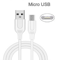 Cable: Tianston USB A Male to Micro USB B Male mic...